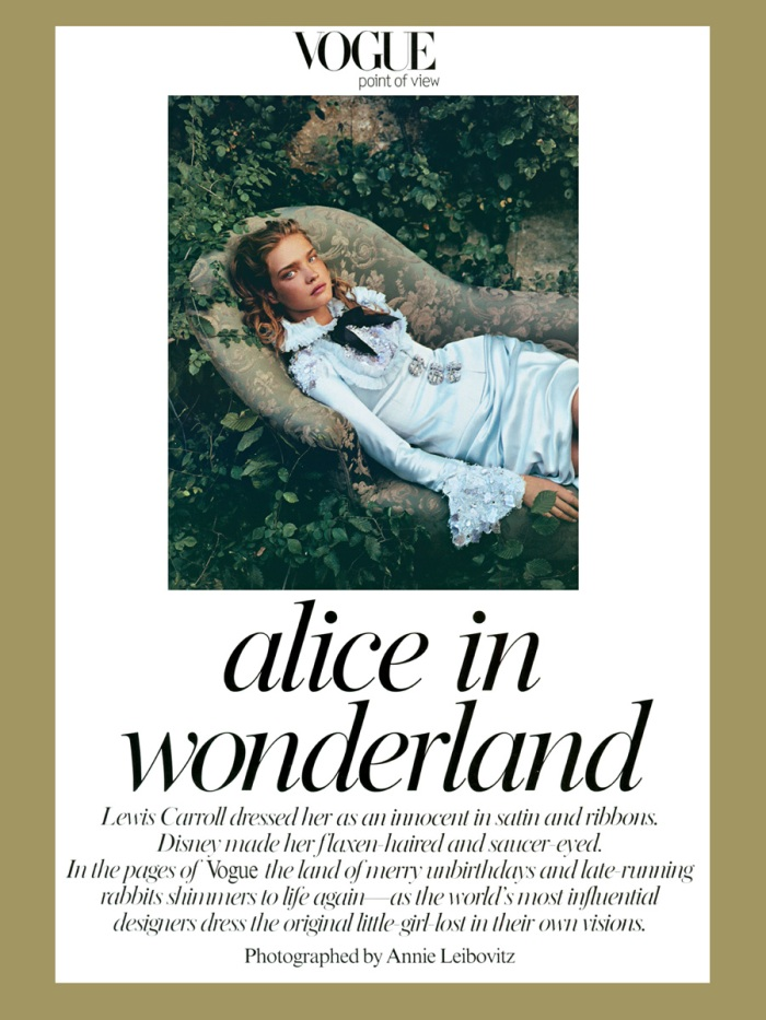 Annie Leibovitz - Alice in Wonderland (Vogue)