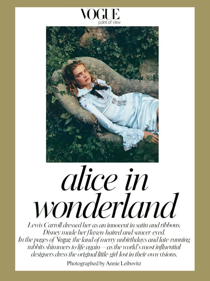 Annie Leibovitz - Alice in Wonderland (Vogue)