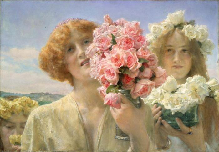 Alma Tadema - Offerta di primavera