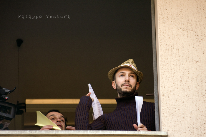 Il Re oggi gira. Voi no? (Via Giorgio Regnoli, Forlì) Associazione Casa del Cuculo - Foto 18