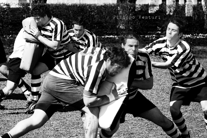 Cesena Rugby VS Rugby Falconara Dinamis 26-12 (28 Marzo 2010) Foto 04