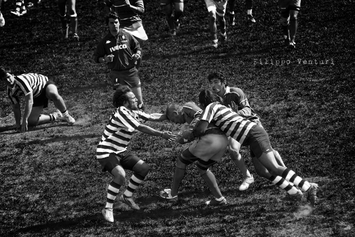 Cesena Rugby VS Rugby Falconara Dinamis 26-12 (28 Marzo 2010) Foto 11