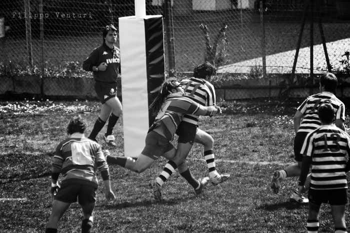 Cesena Rugby VS Rugby Falconara Dinamis 26-12 (28 Marzo 2010) Foto 17