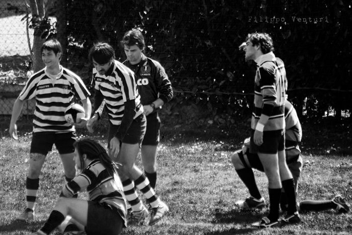 Cesena Rugby VS Rugby Falconara Dinamis 26-12 (28 Marzo 2010) Foto 18