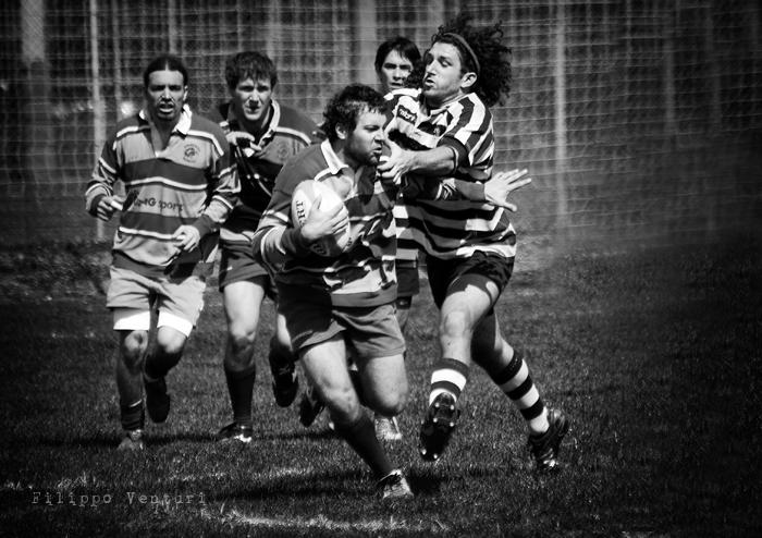 Cesena Rugby VS Rugby Falconara Dinamis 26-12 (28 Marzo 2010) Foto 22