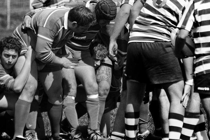 Cesena Rugby VS Rugby Falconara Dinamis 26-12 (28 Marzo 2010) Foto 28