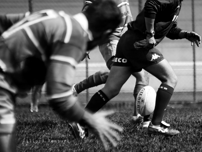Cesena Rugby VS Rugby Falconara Dinamis 26-12 (28 Marzo 2010) Foto 32