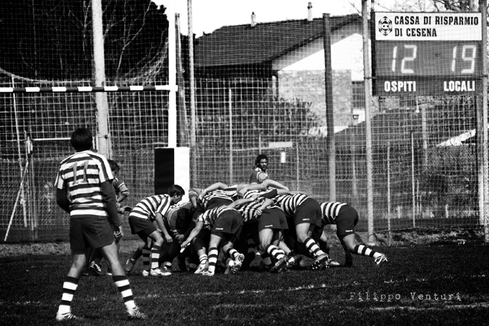 Cesena Rugby VS Rugby Falconara Dinamis 26-12 (28 Marzo 2010) Foto 34