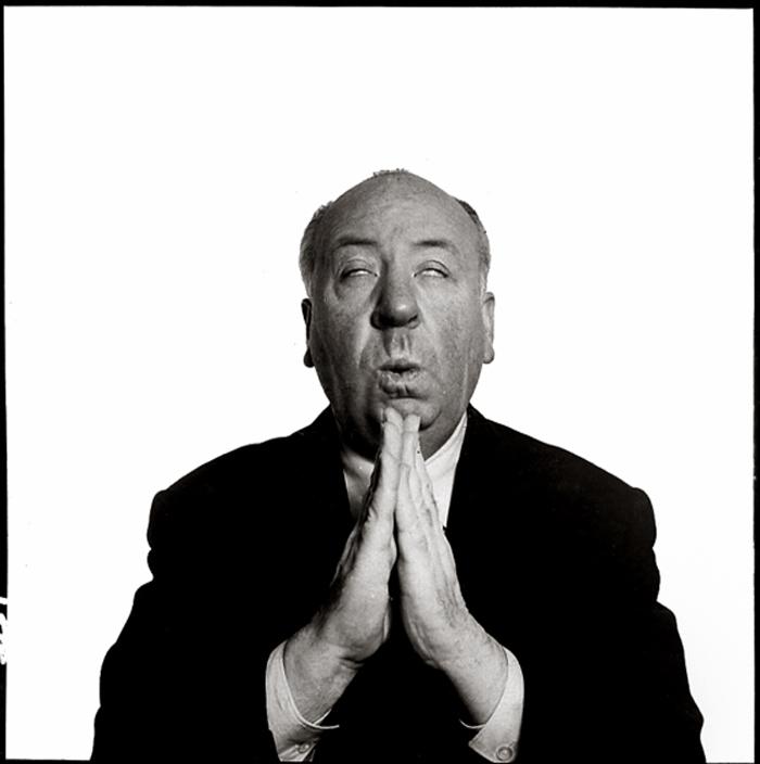 Richard Avedon - Alfred Hitchcock