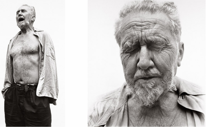 Richard Avedon - Ezra Pound