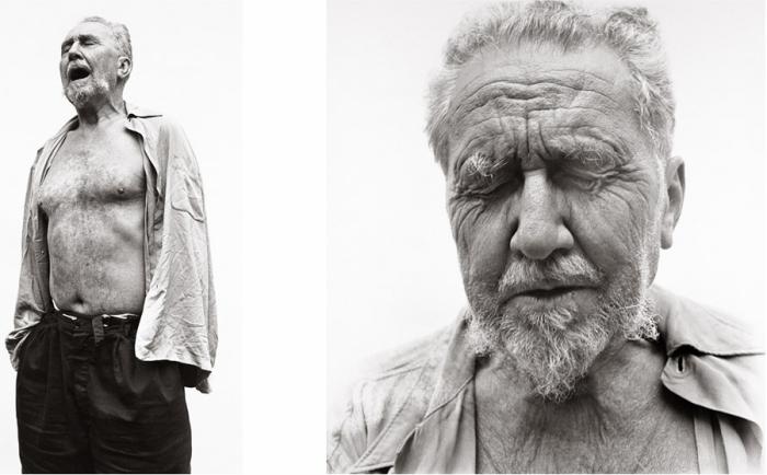 Richard Avedon - Ezra Pound