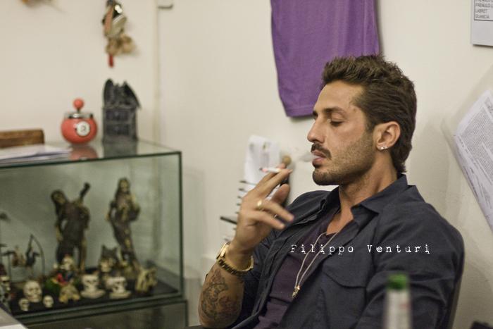 Fabrizio Corona allo Skorpia Tattoo Studio di Cesena (foto 4)