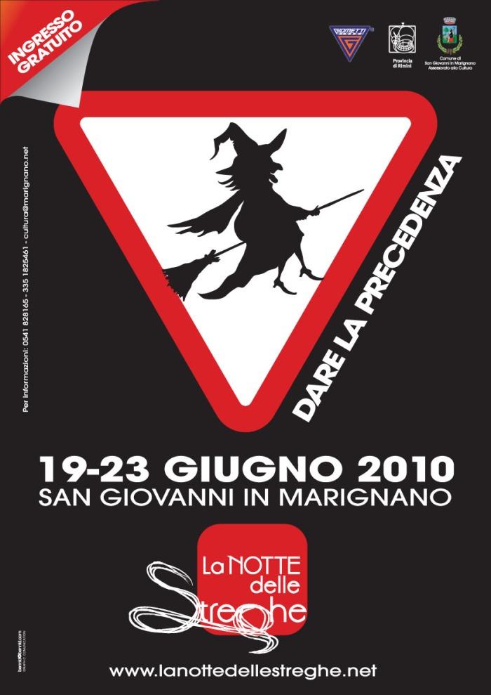 La Notte delle Streghe - San Giovanni Marignano - Locandina
