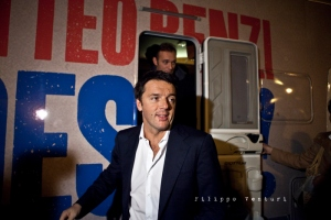 Matteo Renzi a Ravenna (Primarie PD)