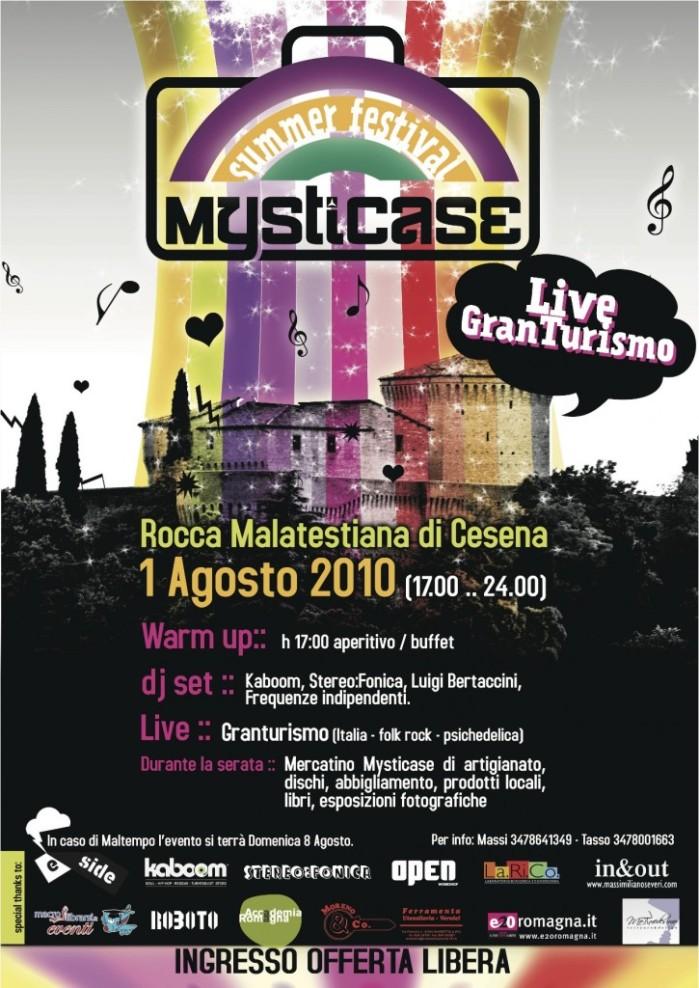 MystiCase Summer Festival, alla Rocca Malatestiana di Cesena (Locandina)