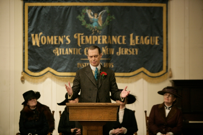 Boardwalk Empire, Telefilm  con Steve Buscemi