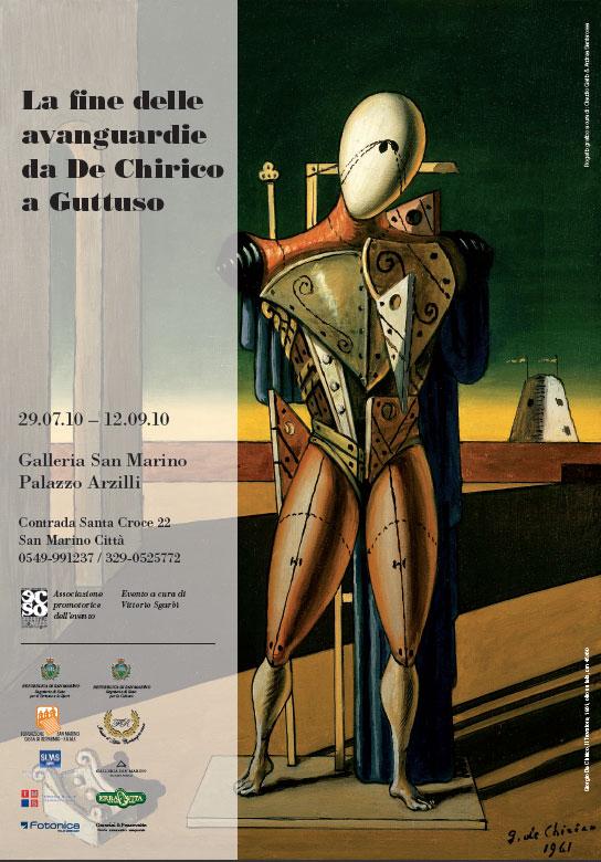 La Fine delle Avanguardie da De Chirico a Guttuso, Mostra a San Marino