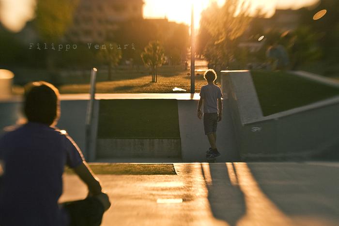 Tramonto al Jurassic Skatepark (Foto 2)