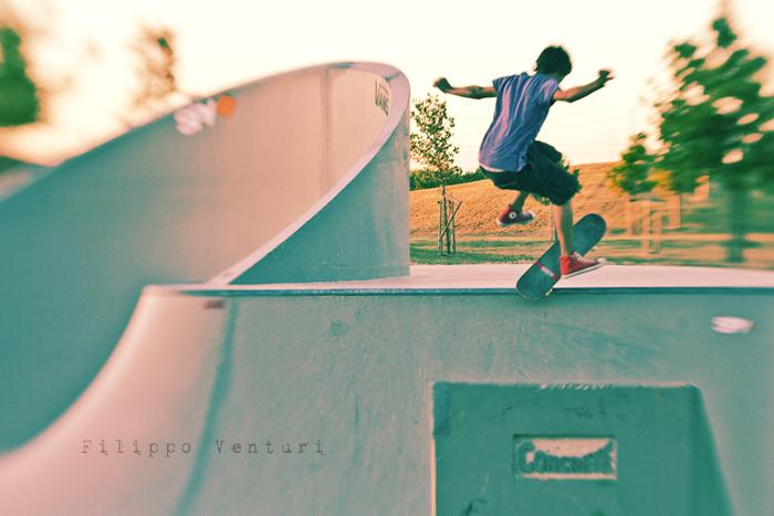 Tramonto al Jurassic Skatepark (Foto 3)
