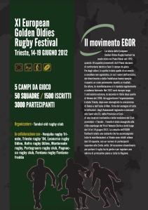 Presentazione European Golden Oldies Rugby Festival 2012 a Trieste