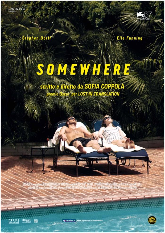 Somewhere, by Sofia Coppola (Poster)