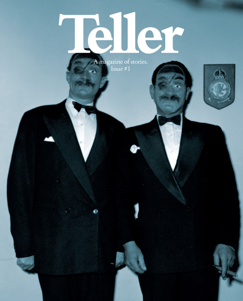 Teller, a magazine of stories (issue 1)