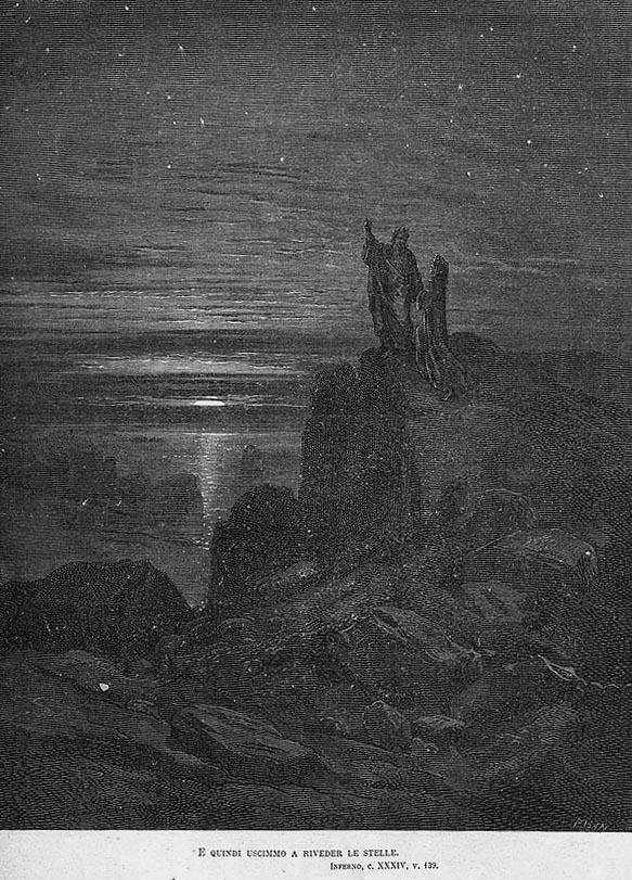 Gustave Dorè - E quindi uscimmo a riveder le stelle.