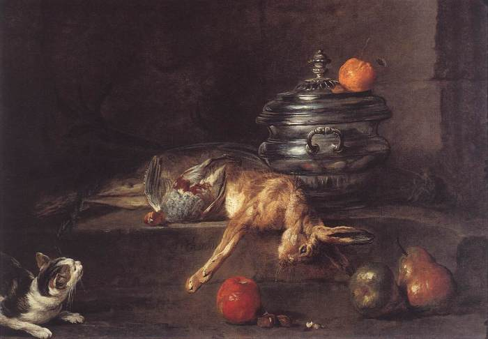 Jean Baptiste Simeon Chardin - The Silver Tureen