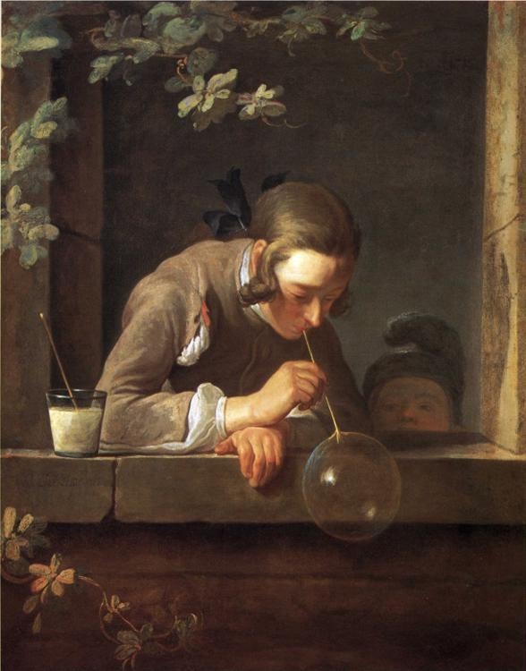 Jean Baptiste Simeon Chardin - The Soap Bubble