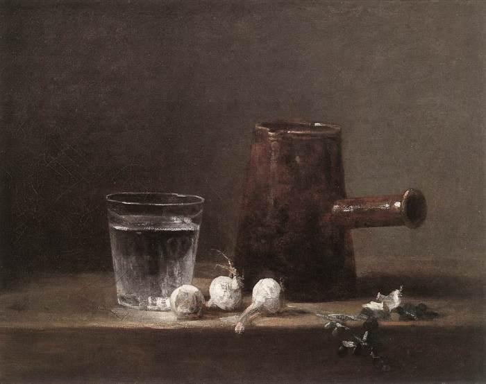 Jean Baptiste Simeon Chardin - Water Glass & Jug