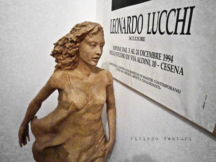 Foto 9 -  Notte della Cultura nello studio dello scultore Leonardo Lucchi