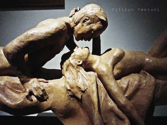 Foto 12 -  Notte della Cultura nello studio dello scultore Leonardo Lucchi
