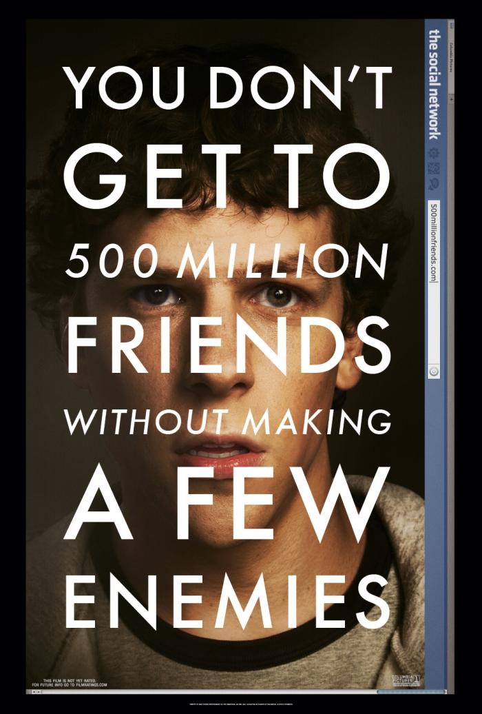The Social Network, l'ultimo film di David Fincher (Poster)