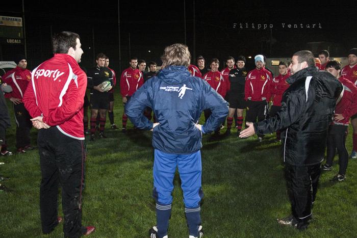 Diego Dominguez visita il Romagna Rugby (Foto 2)
