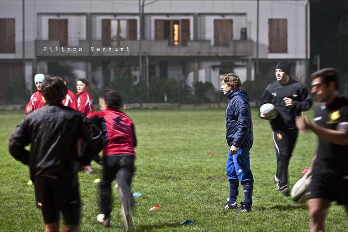 Diego Dominguez visita il Romagna Rugby (Foto 7)
