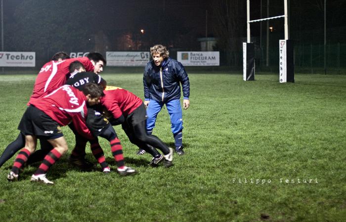 Diego Dominguez visita il Romagna Rugby (Foto 8)