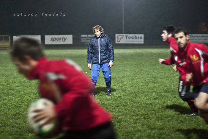 Diego Dominguez visita il Romagna Rugby (Foto 9)
