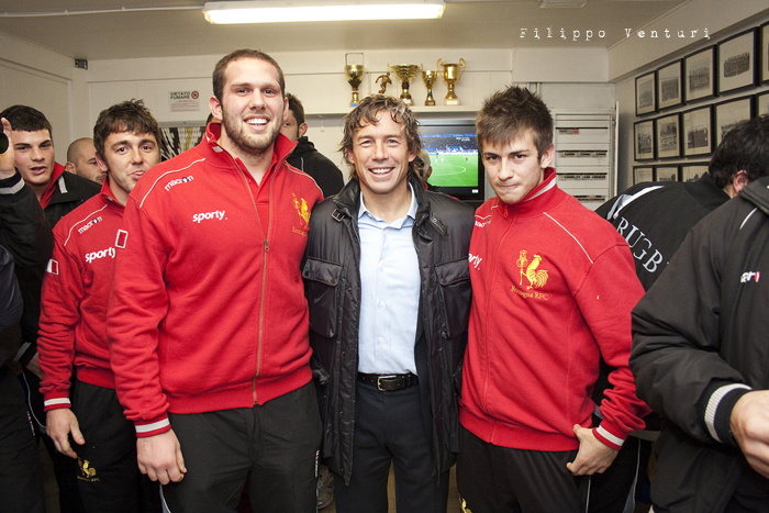 Diego Dominguez visita il Romagna Rugby (Foto 23)