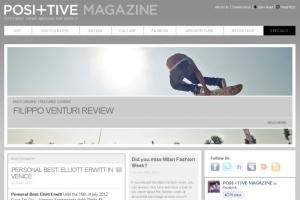 Pos+itive Magazine, Skateboarding