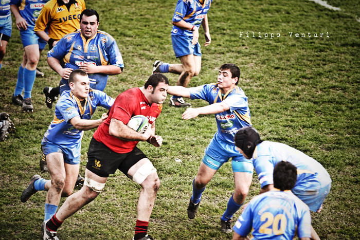Romagna Rugby VS Rugby Viterbo - Foto 7