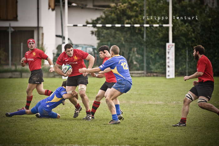 Romagna Rugby VS Rugby Viterbo - Foto 22