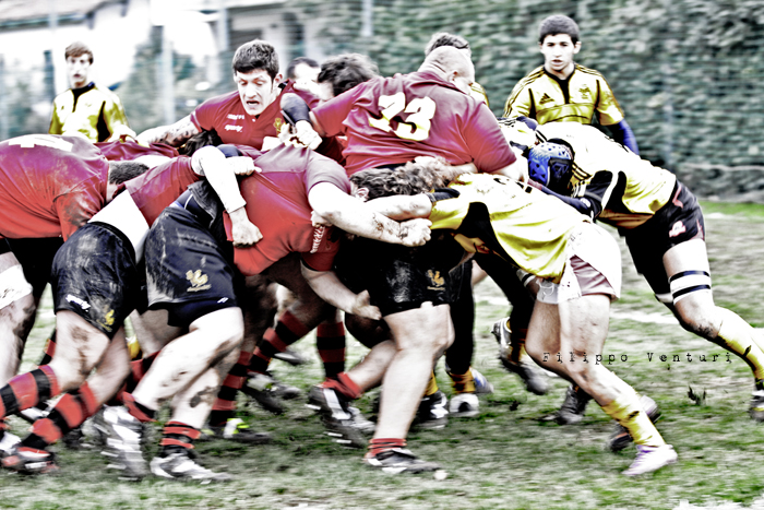 Romagna Rugby VS Union Rugby Tirreno - Foto 22