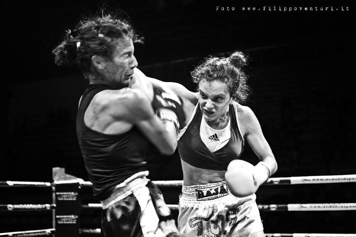 Female Kick Boxing K-1 Annalisa Bucci - Photo 1