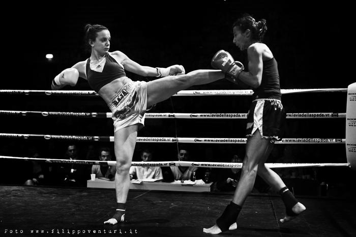 Female Kick Boxing K-1 Annalisa Bucci - Photo 2