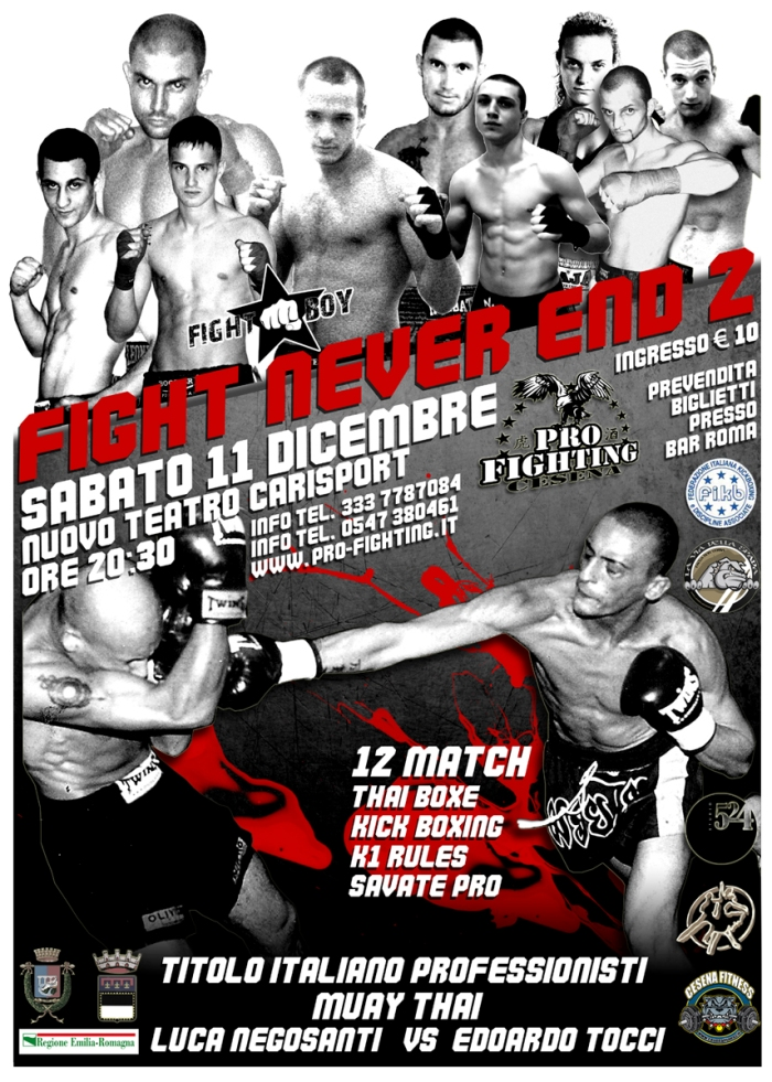 Fight Never End 2 (locandina)