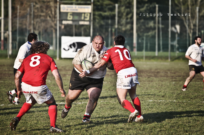 Romagna Rugby VS CUS Perugia Rugby - Foto 12
