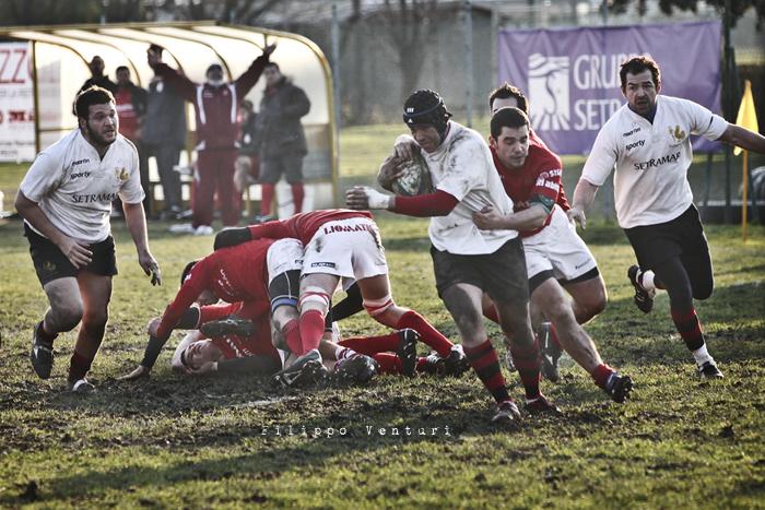 Romagna Rugby VS CUS Perugia Rugby - Foto 19