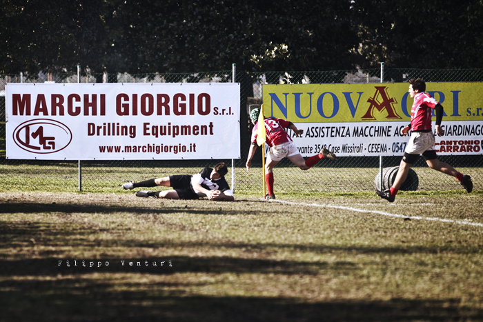 Under16: Cesena Rugby VS Firenze Rugby (foto 6)