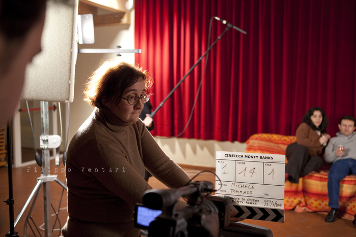 Monty Banks - Backstage cortometraggio (foto 16)
