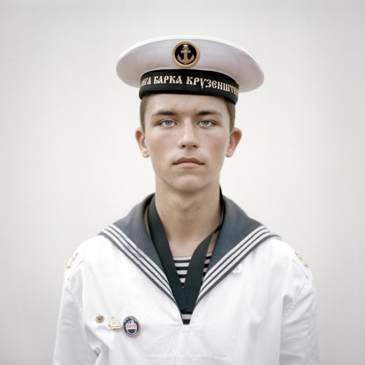 Portraits: 2nd prize singles. Joost van den Broek, the Netherlands, de Volkskrant. Kirill Lewerski, cadet on Russian tall ship Kruzenshtern